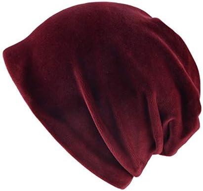 Forro polar de punto cálido de moda para mujer Gorras de ...