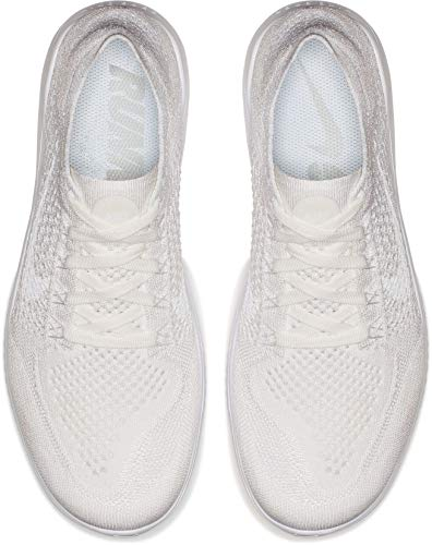 Running Nike da Uomo Bianco Scarpe 2018 Run Flyknit Free Laufschuh 103 White nwn0O