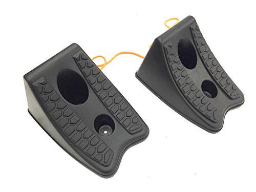 MTC 20207 Heavy Duty Wheel Chocks, Set of 2 by MTC