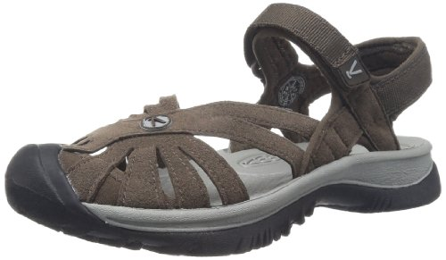 KEEN Women's Rose Sandal,Cascade Brown/Neutral Gray,5.5 M US by KEEN
