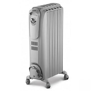 DeLonghi TRD0615 1500W Radiador - Calefactor (Radiador, Piso, palanca, Giratorio, 1500