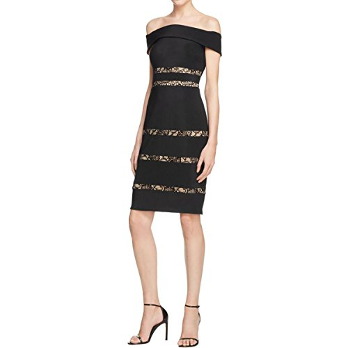 js boutique black lace dress - 5