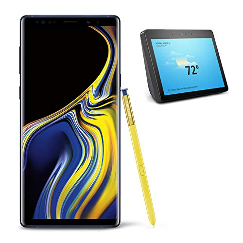 Samsung Galaxy Note 9 Unlocked Phone 512GB, Ocean Blue with All-new Echo Show (2nd Generation)