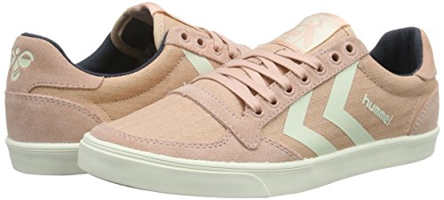 Hummel Misty Low Rose Pink Damen Stadil Herringbone Sneaker Slimmer qxwr7C0q
