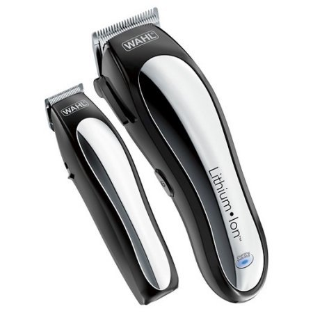 Wahl 25 Piece CORDLESS Haircut and Touch-up Set with EXTRA Battery Trimmer and BONUS FREE CLOVER HILL Guide Comb Organizer Included by WAHL....