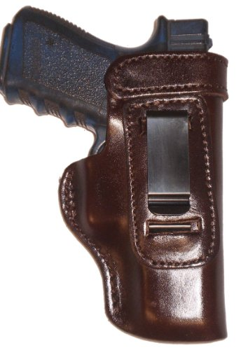 Smith and Wesson Governor Heavy Duty Brown Right Hand Inside The Waistband Concealed Carry Gun Holster (Smith And Wesson The Governor)