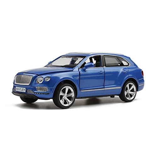 JIANPING Model Car Bentley Tim Off-Road SUV 1:32 Simulation Die-Casting Alloy Static Pull Back Toy Car Model Model car