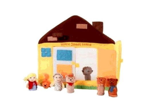 Manhattan Toy Educational Products - Pappa Geppetto's House Finger Puppet Theater -