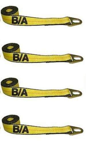 BA Products Qty. 4, 38-1A-x4, Straps with Grab Plates for Chevron Wheel Lift & More!