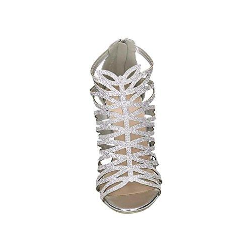 Jumex G70181, Escarpins pour Femme () EU Silber (G70181-silver)