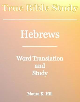 Study bible hebrews pdf