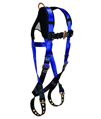 FallTech 7016B Contractor + Standard Non-Belted Harness, ...