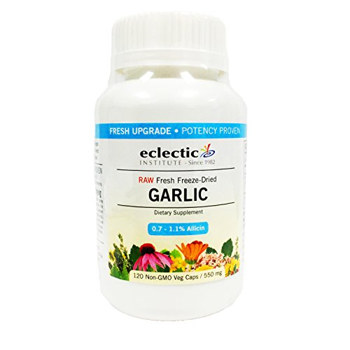 Eclectic Institute Garlic 550 mg Gelcaps