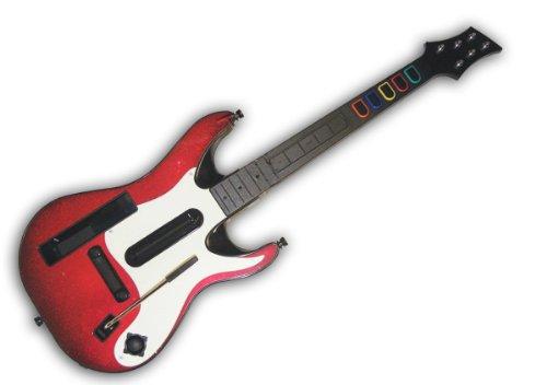 Guitar Hero 5 LOOSE Stand Alone Guitar - Nintendo Wii (Bulk Packaging) (Faceplate Wii Guitar)