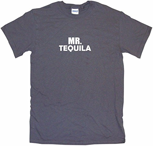Mezcal Reposado - Mr Tequila Men's Tee Shirt 6XL-Charcoal