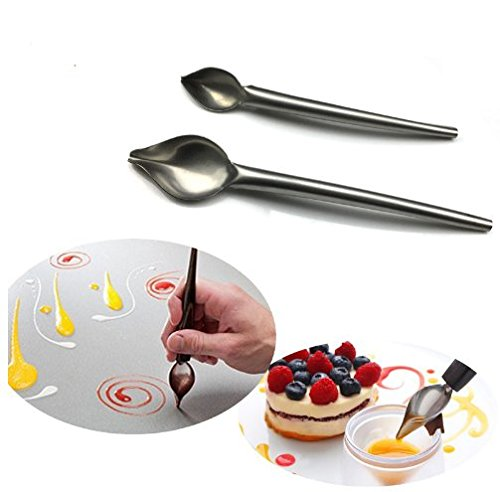 - Pencil Spoons Pizza Chocolate Cake Decorating Tools Kitchen Accessories For Baking Confectionery Pastry Tools Xiaolanwelc (Small)