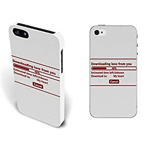 Unique Customized Design Hard Plastic Iphone Case Cover for Iphone 5 5s Back Mobile Phone Protector (Quotes White By163)