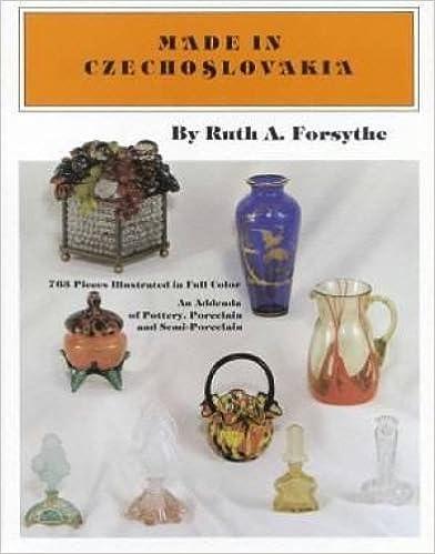 Gratis pdf nedlasting e-bøkerMade in Czechoslovakia: An Addenda of Pottery, Porcelain and Semi-Porcelain by Ruth A. Forsythe 0915410826 (Norsk litteratur) iBook