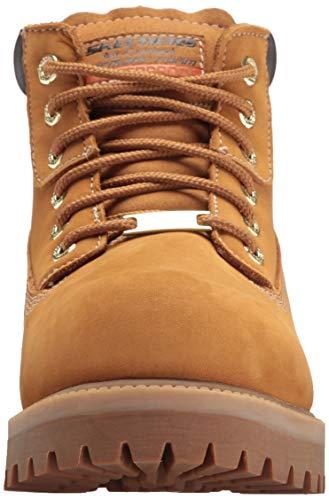 Wheat Skechers Homme Verdict Boots Sergeants nwIZ6wC