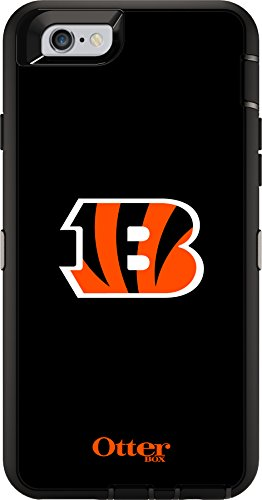 OtterBox DEFENDER iPhone 6/6s Case - Retail Packaging - NFL BENGALS