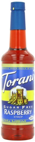 Torani Sugar Syrup Raspberry Ounce product image