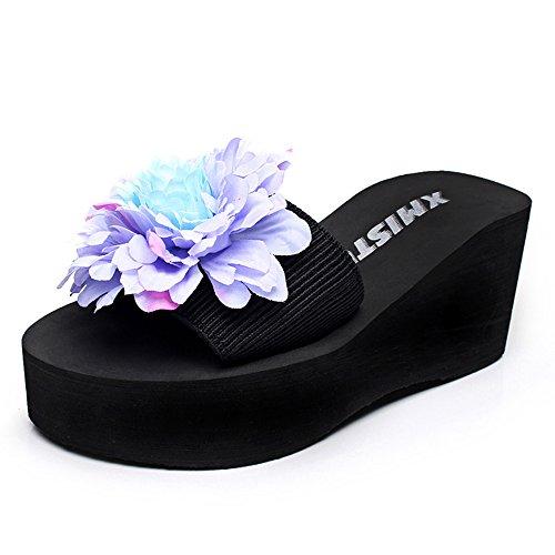 CN36 chaussures Chaussons femmes mode EU36 Couleur 7cm HAIZHEN pour antidérapants Pour femmes 7 talons taille à UK4 hauts féminins 1 5ttrUw