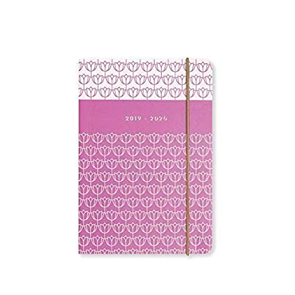 Matilda Myres 2019-20 - Agenda diaria (tamaño A6), color morado, color Plum Diary