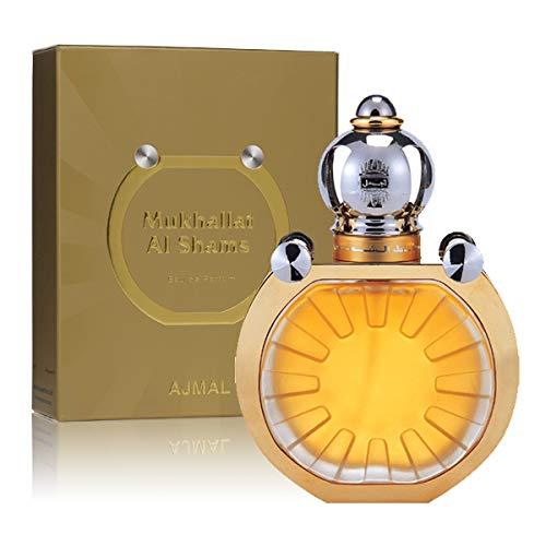 149f91156 Ajmal Mukhallat Shams Perfume For Unisex 50ml - Eau de Parfum: Amazon.ae
