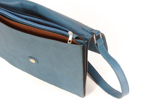 Handtasche - Schulter Tasche 300004 Blau