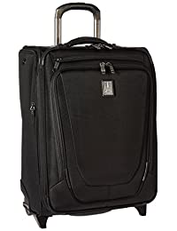 "Travelpro Crew 11 20"" Bus Plus Upright Carry On Luggage, Black"