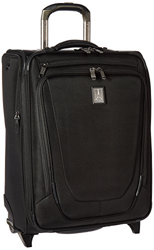Travelpro Crew 11 20'' Expandable Business Plus Rollaboard Carry-on Suitcase, Black by Travelpro