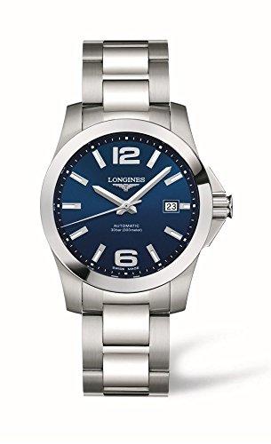 - Longines Conquest Mens Watch L36764996