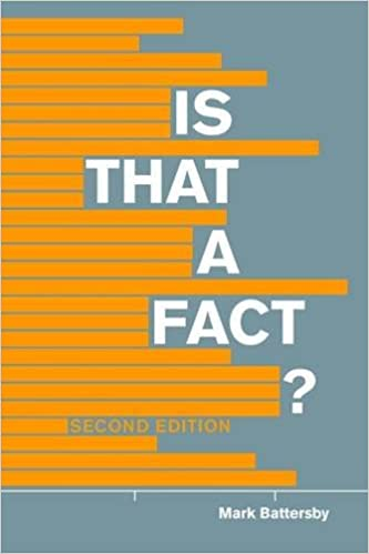 Is that a fact second edition a field guide to statistical and is that a fact second edition a field guide to statistical and scientific information mark battersby 9781554812448 amazon books fandeluxe Choice Image