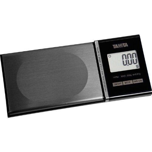 Tanita Professional Mini Scale 1479J with 200g Capacity 0.01g Graduation 6 Modes