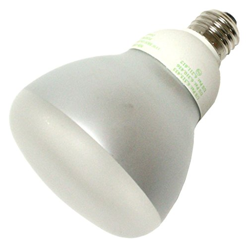 Litetronics 62370 - MB-1100DP 11W BR30 MED 120V FROST COLD CATHODE 2850K Cold Cathode Screw Base Compact Fluorescent Light Bulb