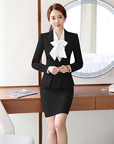Amazon.com: SK Studio Mujer Formal trajes de negocios ...