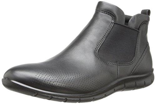 mujer Negro Black1001 Botas Boot On de ECCO cuero Babett Ecco Slip XUn8fxWvz