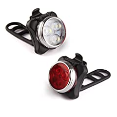 This small yet bright LED bike light gives you and your family the protection you need whether cruising down a crowded paved road or enjoying the nature in the wilderness. Choose white for the front headlight or red for the rear taillight.4 L...