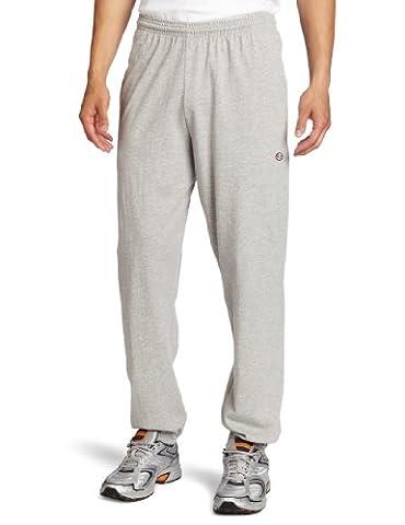 Champion Men's Closed Bottom Jersey Pant, Oxford Gray, Small - Champion Oxford Sweatpants
