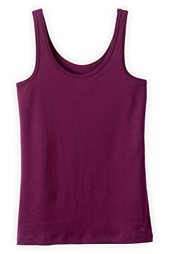 Fair Indigo Fair Trade Organic Interlock Tank (XL, Boysenberry)