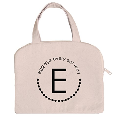 Tablet Case Canvas Handles Alphabet E, Egg Eye Every Eat Easy By Style In Print (Alphabet Egg)