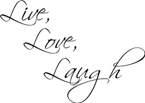 Live love laugh wall art product image