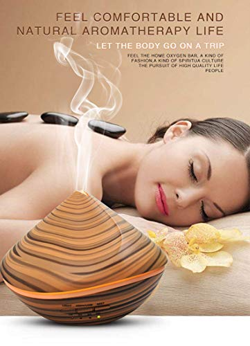 Appreciis Ultrasonic Cool with Color Changing/Aromatherapy Machine Diffuser Aroma