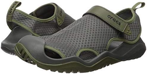 CROC Mens Swiftwater Mesh Deck Sandal Sport