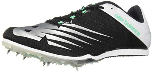New Balance Men's 500v6 Track Shoe Black/White 5 D US (Best Long Jump Spikes)