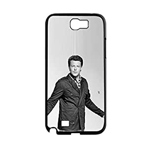 Generic Gel Plastic Phone Cases For Guys Custom Design With Cory Monteith For Samsung Galaxy Note2 N7100 Choose Design 3