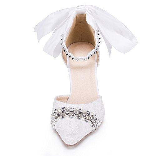 Casamento De Moda 43 Brancas Forma Kevin Sapatos Das Tamanho Mulheres Da PnfqwxwB