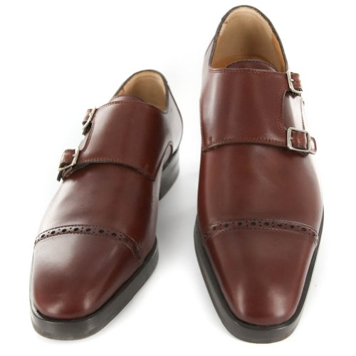 New Sutor Mantellassi Caramel Brown Leather Shoes 6.5/5.5