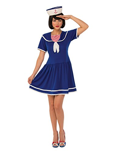 Rubie's Costume 821055-S Co Women's Sailor, Blue, Small]()