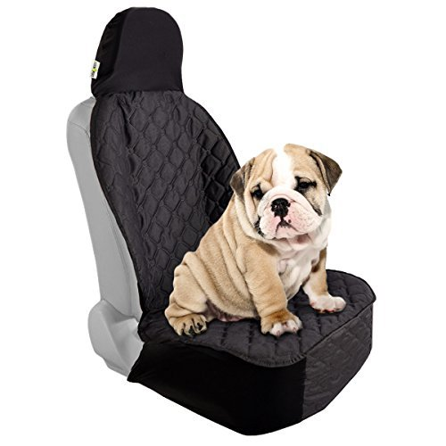 Bucket Seat Headrests (Cosmoplus Bucket Pet Seat Cover, Dog Seat Covers with Stretchy Cap and Seat Skirting, Universal Fit, Non-slip, Waterproof)